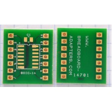 SOIC14 adapter board