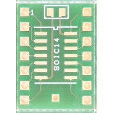 SOIC14 / SO14 adapter