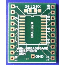 SOIC20 adapter board
