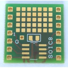 SOIC8 adapter with SMD PADS