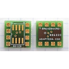 SOIC8 / SO8  to DIP BOARD ADAPTER