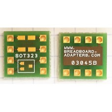 SOT323 to DIL adapter board
