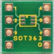 SOT363 adapter pcb