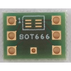SOT666 to DIL6 adapter board