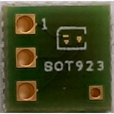 SOT923 adapter board